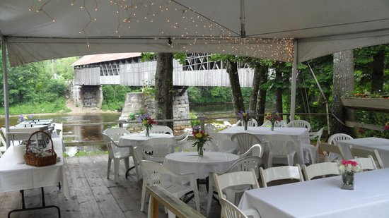 Patio Function Picture Of Covered Bridge Farm Table Campton - Covered bridge farm table