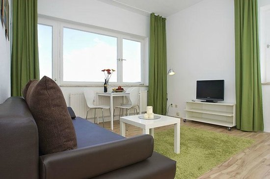 A&B Apartment & Boardinghouse Berlin: Comfort Apartment Wohnbereich