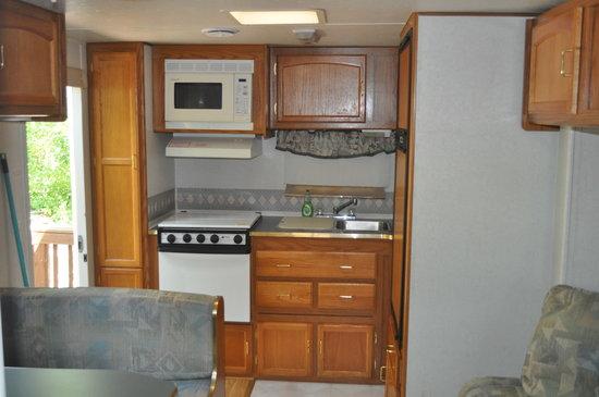 Champions Riverside Resort: Inside rental unit