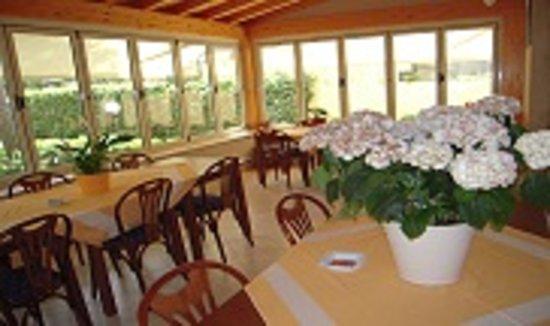 Hotel Perla del Mare: Veranda