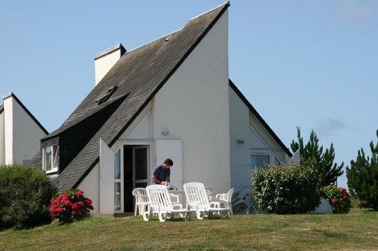 VVF Villages Belle-Ile-en-Mer : terrasse d'un logement