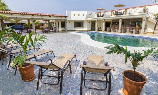 Hotel Frontera: Area de Piscina