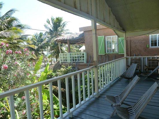 Hotel del Rio: Palm's Unit Veranda