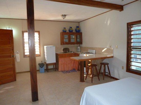 Hotel del Rio: Kitchenette