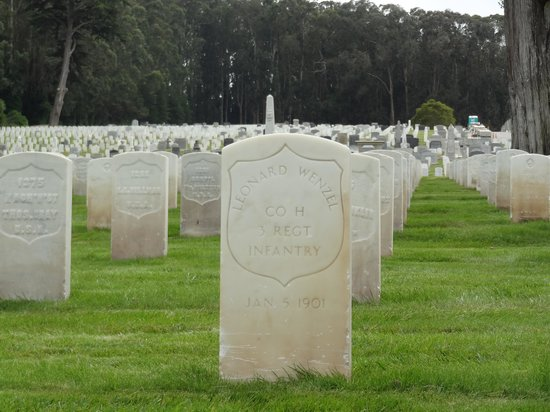 San Francisco National Cemetery: Early tribute