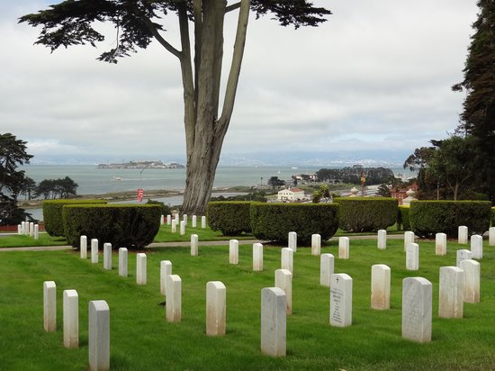 San Francisco National Cemetery: View from National Cemetery