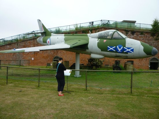 Fort Paull: Rescued Hawker Hunter