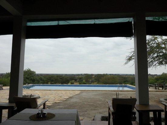 Osupuko Lodge : Vista desde el restaurante