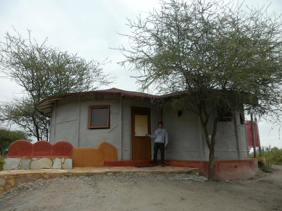 Osupuko Lodge: Entrada a la casita