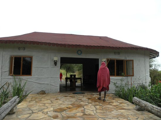 Osupuko Lodge : Lobby de acceso