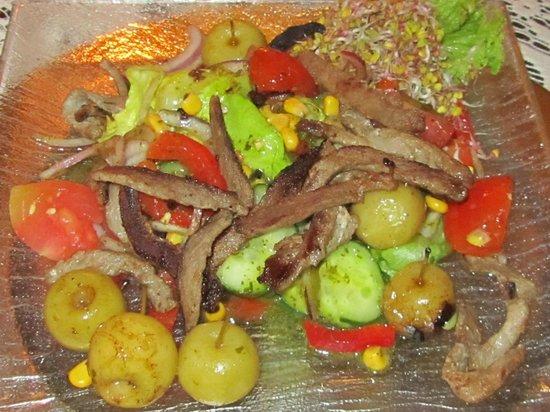 U Babci Maliny: Wild Boar Salad