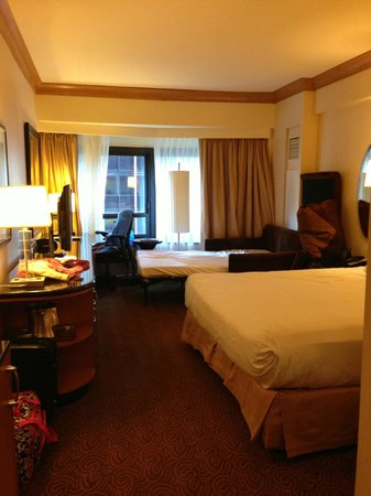 King Bed Queen Sleeper Sofa Picture of New York Hilton Midtown New York City TripAdvisor