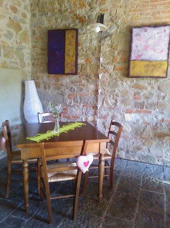 L'Ozio in Collina: sala pranzo