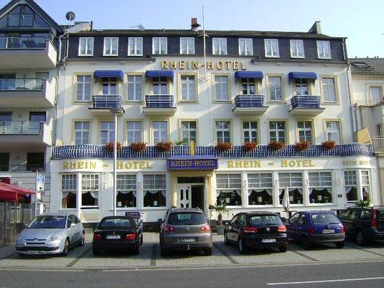 Rhein-Hotel, Andernach, Alemania.