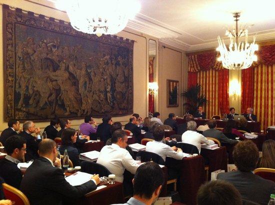 Grand Hotel et de Milan : Meeting