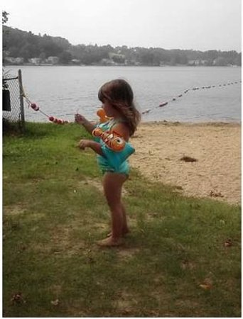Lake Gardner: Swimmies allowed - no floats