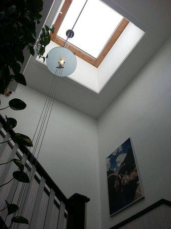 Swiss Hotel: Stairwell