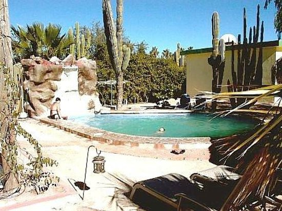 Hacienda Del Sol : There are no chemicals in the water since it is ionized