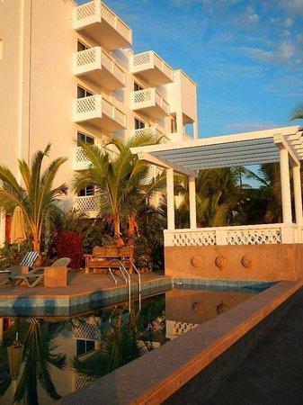 Casa Costa Azul Boutique Hotel: Día soleado en Casa Costa Azul
