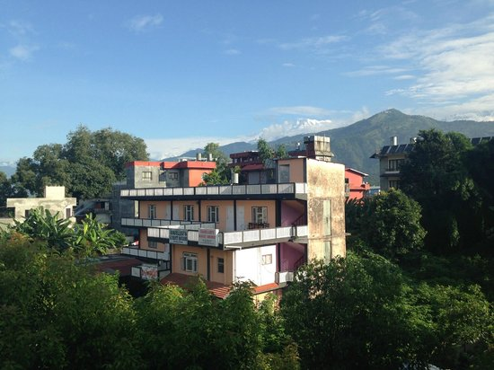 Sacred Valley Inn Pokhara: View from Terrace