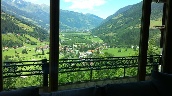 Haus Hirt: View from the restaurant