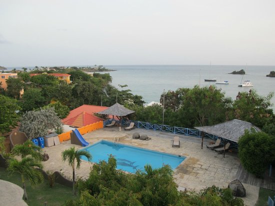 True Blue Bay Boutique Resort : Spectacular view