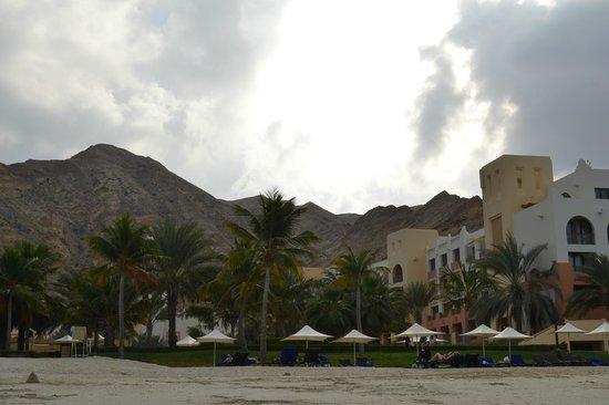 Shangri La Barr Al Jissah Resort & Spa-Al Bandar: Hotel Building