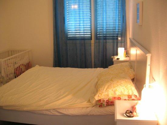 Holiday Residence Rifugio: Alloggio Azzurra - La camera da letto