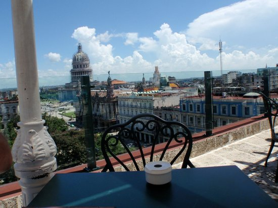 Iberostar Parque Central: Rooftop view