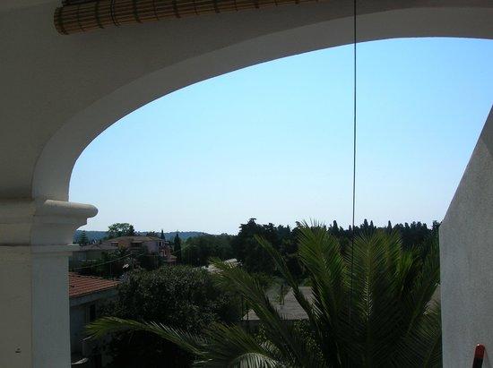 Holiday Residence Rifugio: Alloggio Azzurra - La terrazza con vista