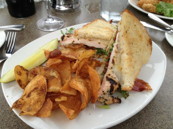 Boat House Waterfront Dining: My sandwich
