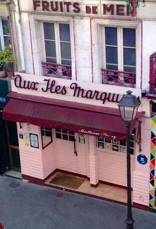 les Iles Marquises: Facade of the Restaurant