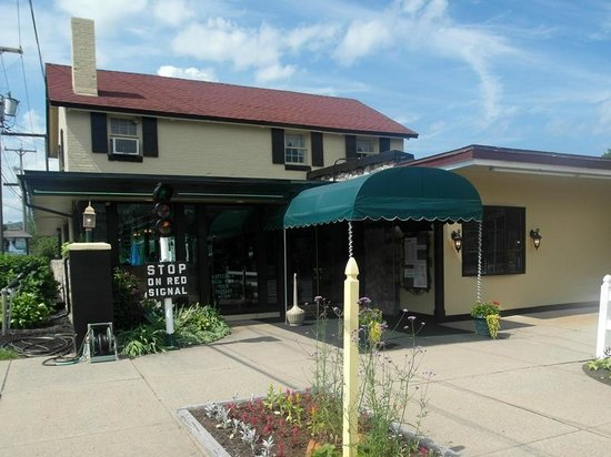 The Village Blacksmith Steakhouse: The Village Blacksmith is located at the Fort William Henry Hotel.