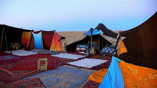 Bivouac les Touareg chez Bachir: tent
