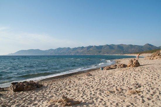 Baccollasta B&B: spiaggia di Porto Paglia, a qualche km