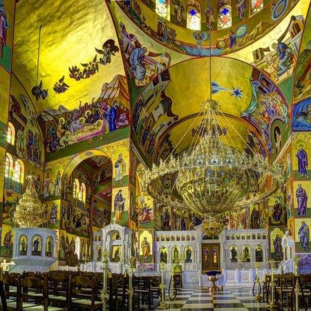 Monastery of Agios Gerasimos: interior of the monastery