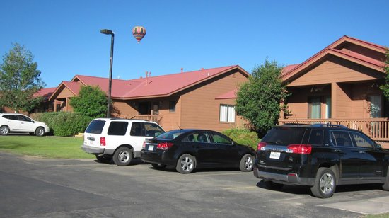 Wyndham Pagosa: The duplex building that we were in