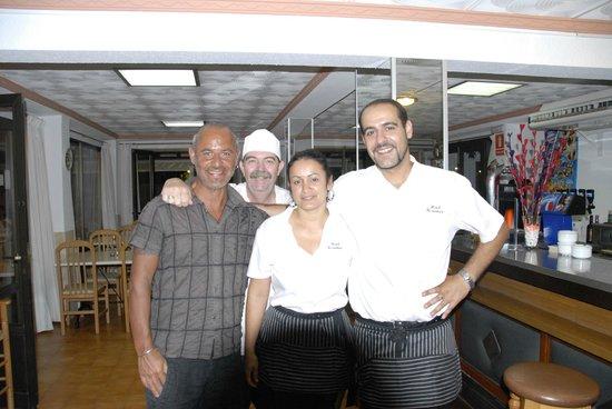 Hotel Rosamar : Staff cucina