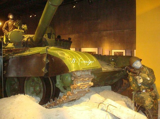 Canadian War Museum: tank