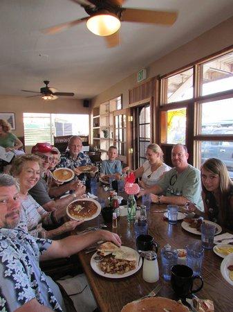 Charley's Restaurant : full tummies