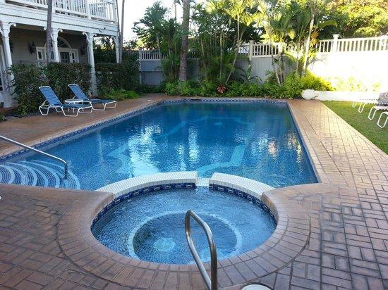 The Plantation Inn: The pool area
