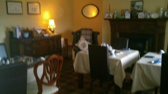 Greencarts Farm: B&B Dining Room