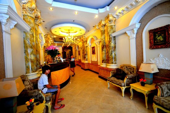 Hanoi City Palace Hotel: Font desk/ lobby