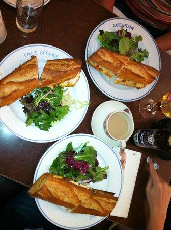 Cafe Gitane : bocadillos de pollo