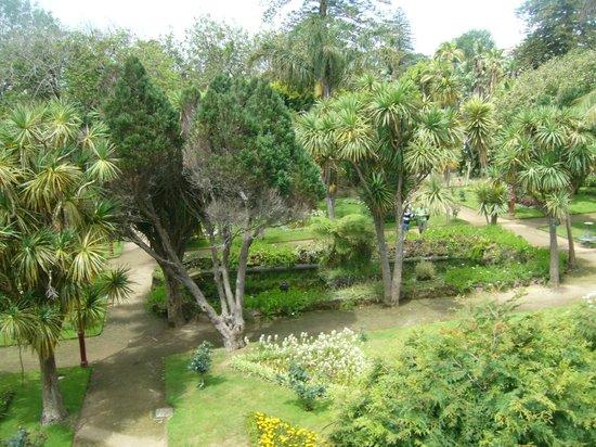 Azoris Angra Garden Plaza Hotel: vista do Jardim