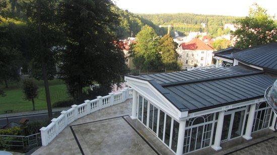 Esplanade Spa & Golf Resort: вид с балкона