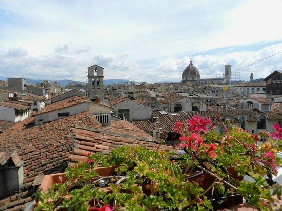 Locanda dei Guelfi B&B: Вид с крыши отеля