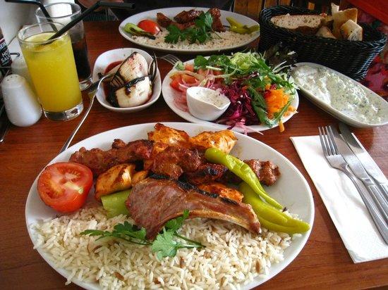 Elif: mix grilled main dish