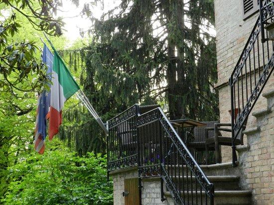 Fonti di Pescaia : Во дворе