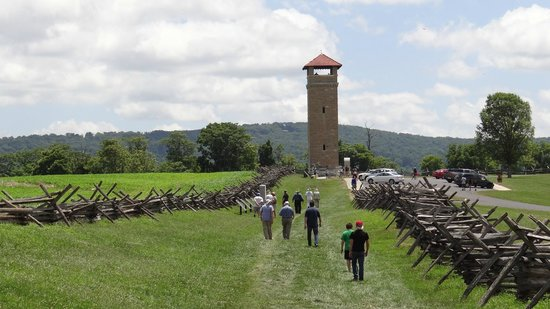 R.C.M History Tours: Observation tower at Bloody Lane